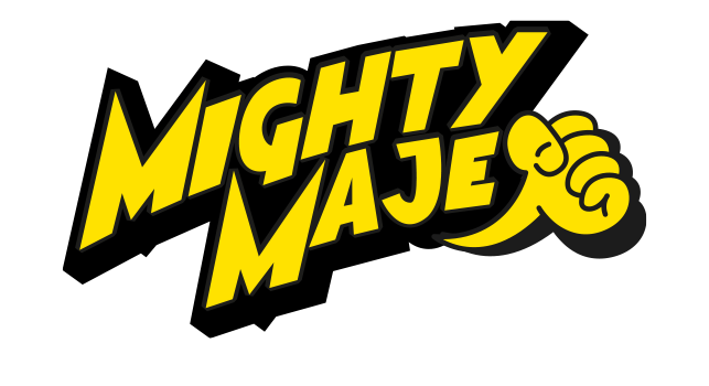 Logo Mighty Maje
