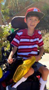 Benjamin, 7 Jahre alt, USA