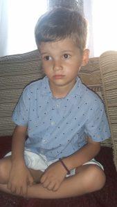Dhimitri, 5 Jahre alt, Griechenland
