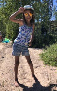 Malva, 8 Jahre alt, Schweden