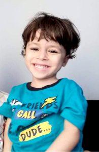 Youssif, 3 Jahre alt, Ägypten